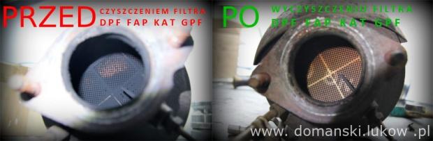 Czyszczenie hydrodynamiczne Filtrów DPF – Domański Serwis Łuków Regeneracja - Filtry DPF FAP SCR GPF KAT - katalizatory Maszyna do czyszczenia filtrów DPF Cleaner