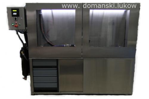 DPF Cleaner Filtr Czyszczenie hydrodynamiczne Filtrów DPF Domański Serwis Łuków Maszyna do czyszczenia filtrów DPF Cleaner Regeneracja Filtry DPF FAP SCR GPF KAT katalizatory z