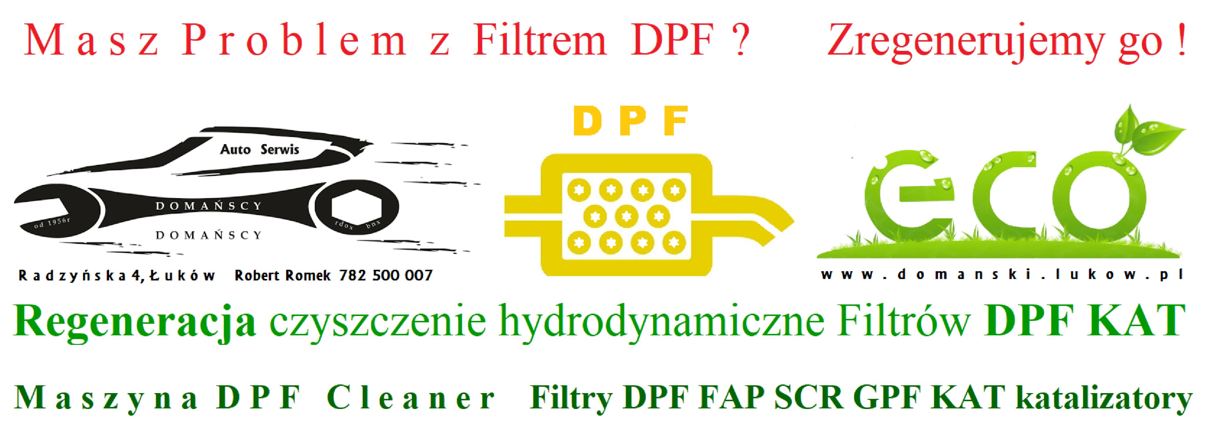 Regeneracja czyszczenie hydrodynamiczne Filtrów DPF KAT DPF Cleaner Maszyna Domański Serwis Łuków1