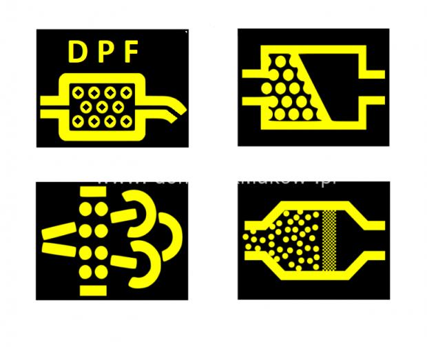 Kontrolki DPF Regeneracja czyszczenie hydrodynamiczne Filtrów DPF KAT DPF Cleaner Maszyna Domański Serwis Łuków